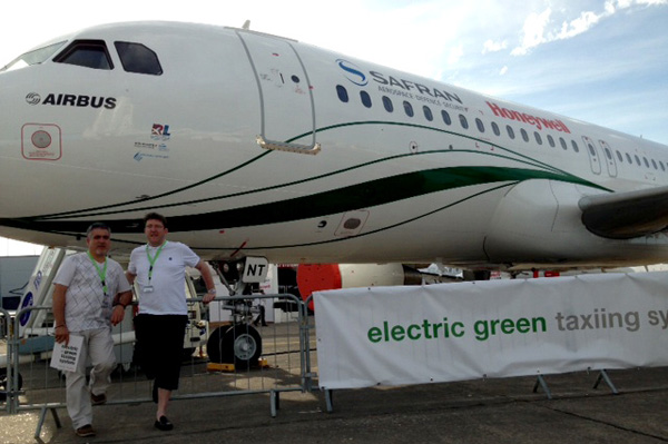 Regio Lease (Laurent LE MINH LOC) at the Paris Air Show 2013
